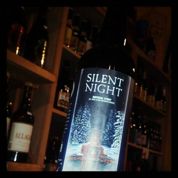 Mother Earth 'Silent Night' Bourbon Barrel Aged Imperial Stout 750ml