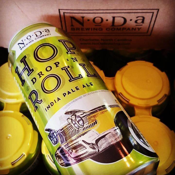 NoDa 'Hop Drop n Roll' IPA 16oz Sgl (Can)