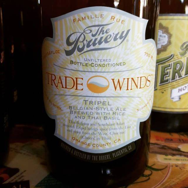 The Bruery 'Trade Winds' Tripel 750ml