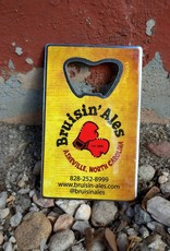 BarWrench Bruisin' Ales Business Card Bottle Opener