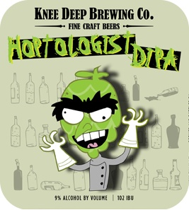 Knee Deep 'Hoptologist' Double IPA 22oz
