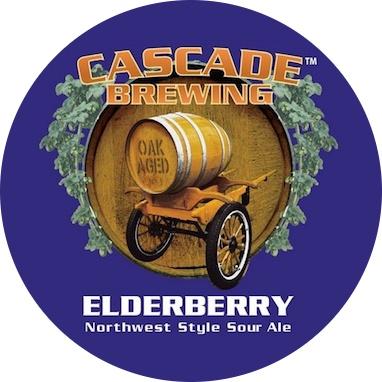 Cascade 'Elderberry - 2015 Project' 750ml