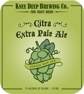 Knee Deep 'Citra' Extra Pale Ale 22oz