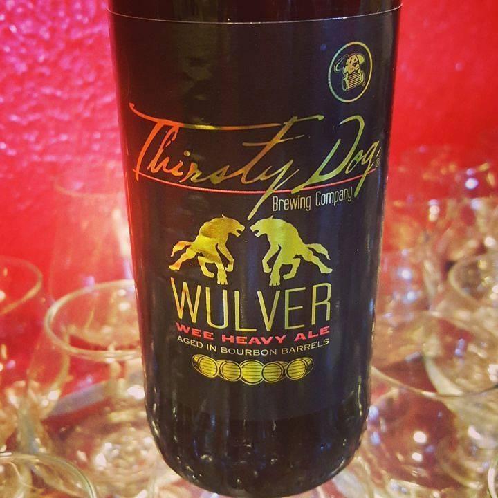 Thirsty Dog 'Wulver' Wee Heavy Aged in Bourbon Barrels 12oz Sgl
