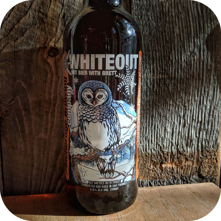 Anchorage 'Whiteout' Witbier with Brett 750mL