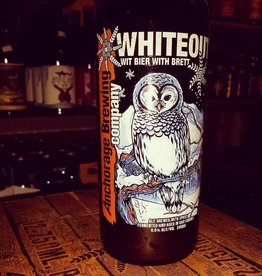 Anchorage Whiteout' Witbier with Brett 750ml