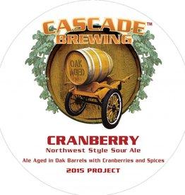 Cascade Cascade 'Cranberry - 2015 Project' Sour Ale 750ml