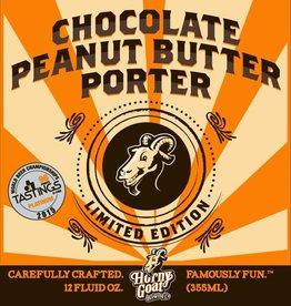 Horny Goat Horny Goat Chocolate Peanut Butter Porter 12oz Sgl (cans)