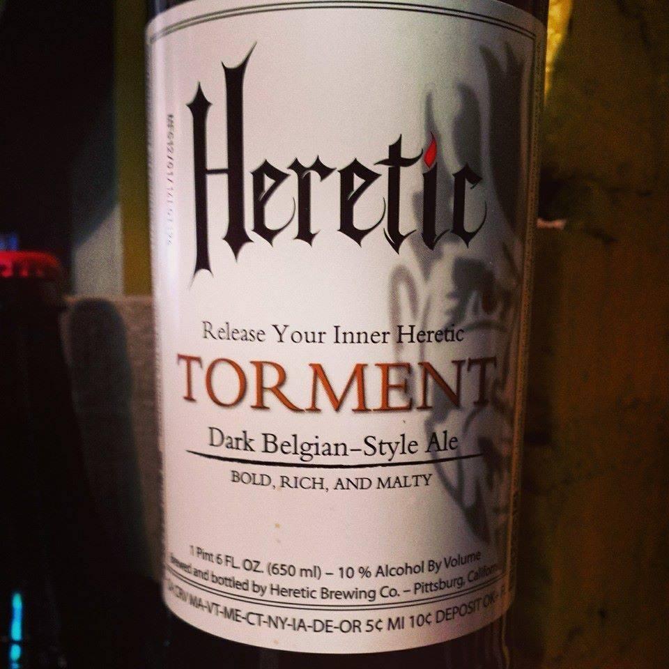 Heretic 'Torment' Belgian Ale 22oz