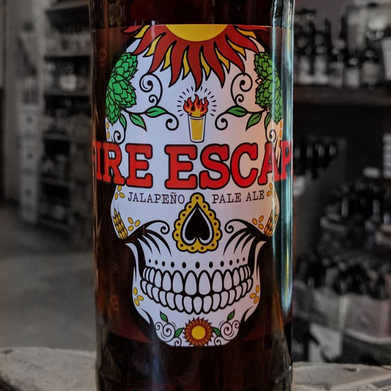 Asheville Brewing 'Fire Escape' Jalapeno Pale Ale 22oz