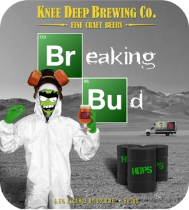 Knee Deep 'Breaking Bud' IPA 22oz