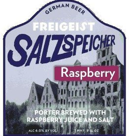 Braustelle 'Freigeist Salzspeicher Sauer Porter - Raspberry' 500mL