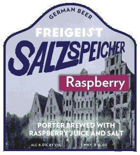 Braustelle Freigeist Salzspeicher Sauer Porter - Raspberry' 500ml