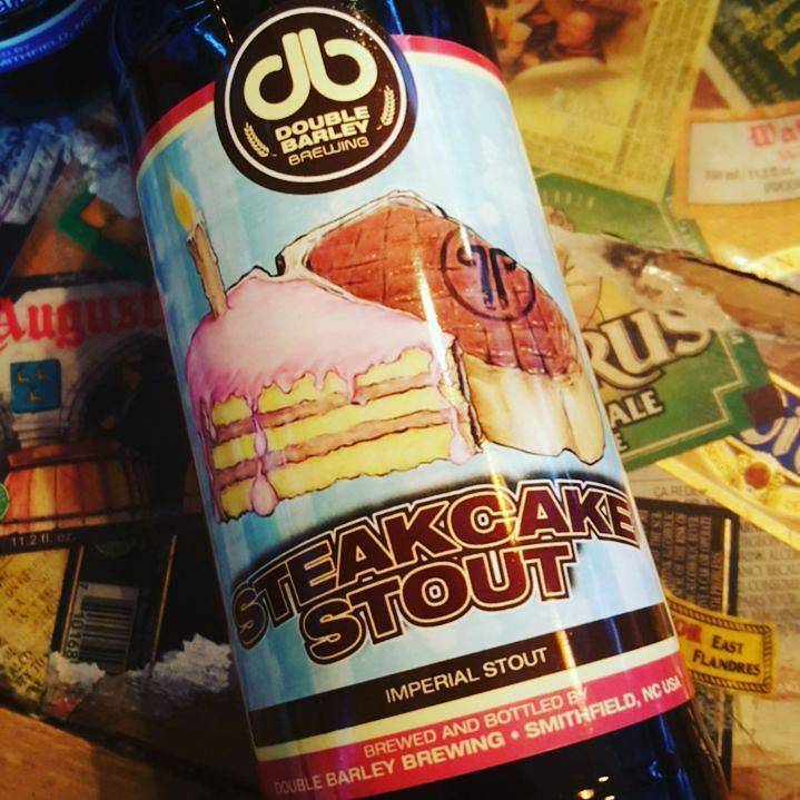 Double Barley 'Steakcake' Imperial Stout 22oz