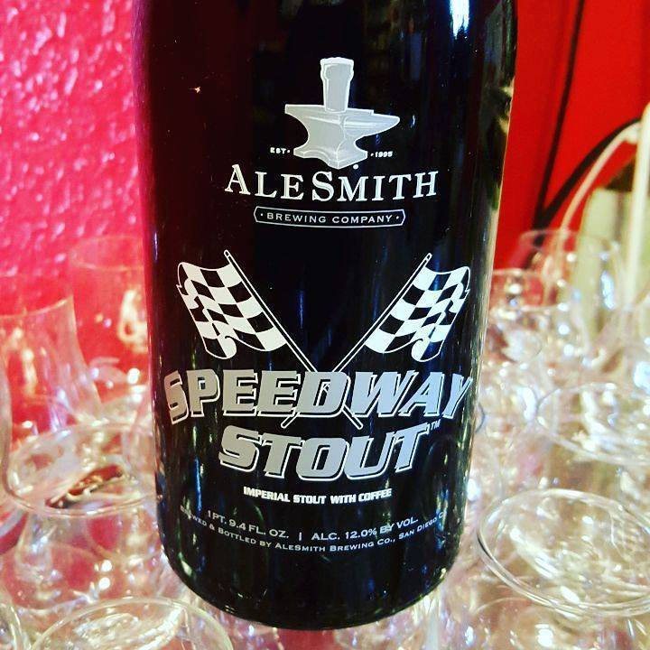 Alesmith 'Speedway Stout' Imperial Stout with Coffee 750ml