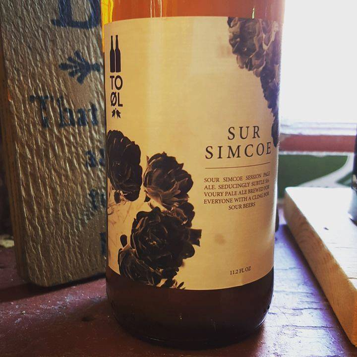 To Øl Sur Simcoe' Sour Mash Session IPA 330ml