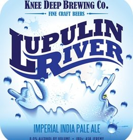 Knee Deep 'Lupulin River' Imperial IPA 22oz