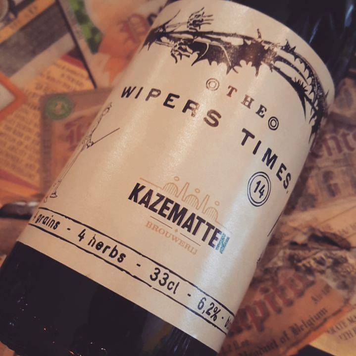 Kazematten Kazematten 'Wipers' 330ml