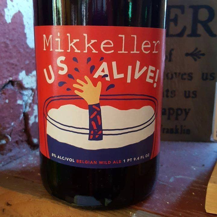 Mikkeller 'US Alive' 750ml