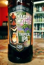 D9 'Hakuna Matata' Tropical IPA 12oz Sgl