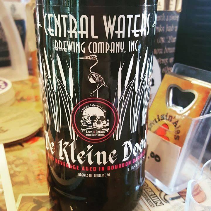 Local Option Central Waters x Local Option 'De Kleine Dood' Barrel Aged Weizenbock 22oz