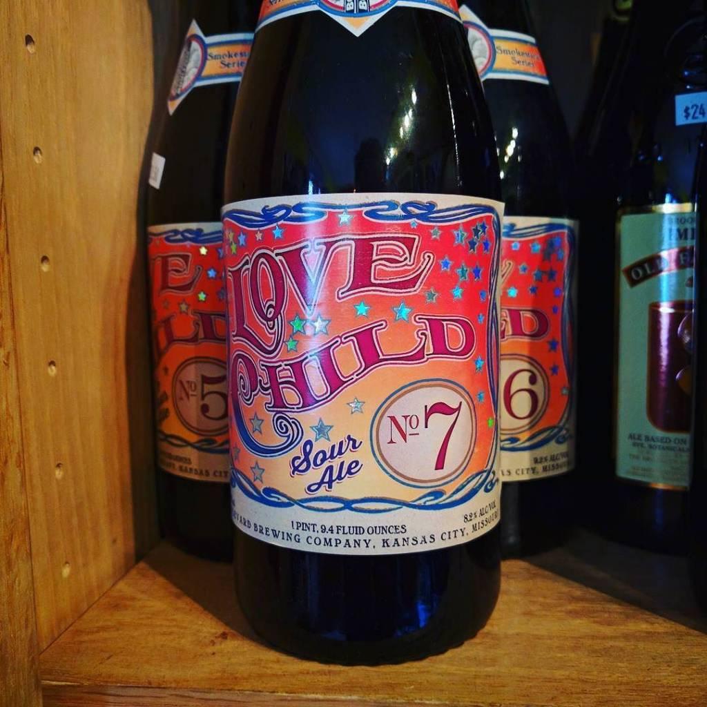 Boulevard 'Love Child No. 7' Barrel Aged Sour Ale 750ml