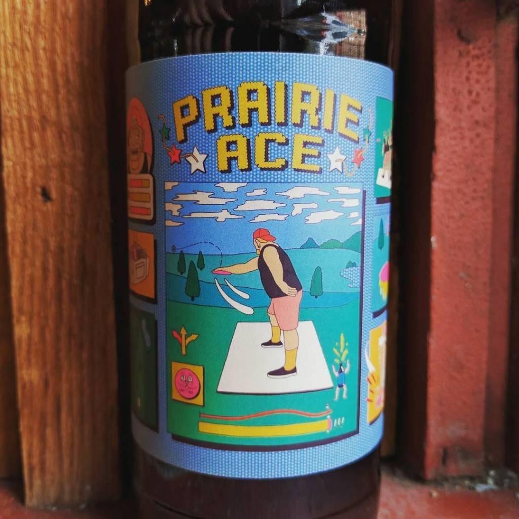 PRAIRIE Artisan Ales 'Ace' Dry Hopped Farmhouse Ale 500ml