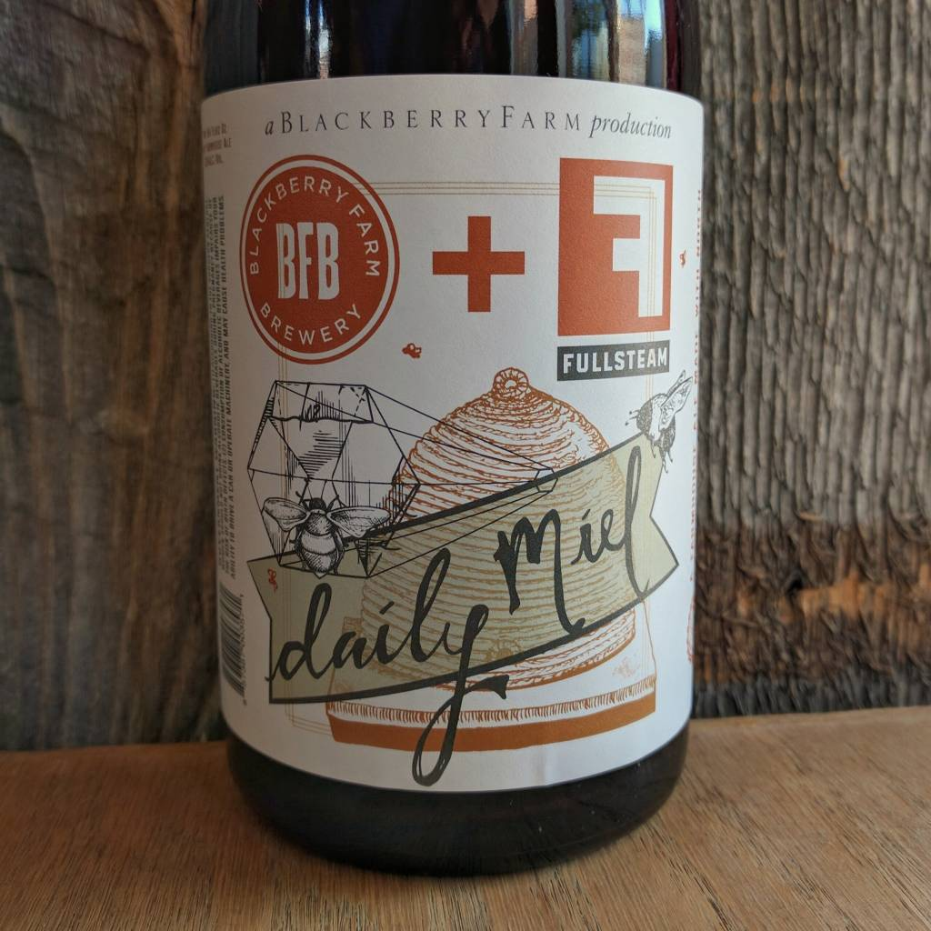 Blackberry Farm Daily Miel Rustic Farmhouse Ale 750ml Bruisin& 39