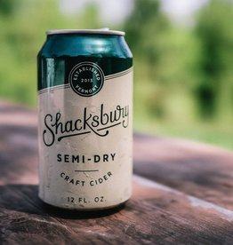 Shacksbury Shacksbury 'Semi-Dry' Cider 12oz (can)