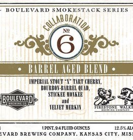Boulevard Boulevard 'Collaboration No. 6'  Firestone Walker Blend 750ml