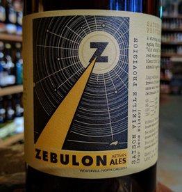 Zebulon Artisan Ales 'For Gene Wilder - Saison Vielle Provision' 750ml