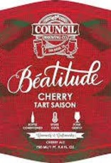 Council 'Beatitude - Cherry' Tart Saison 750ml
