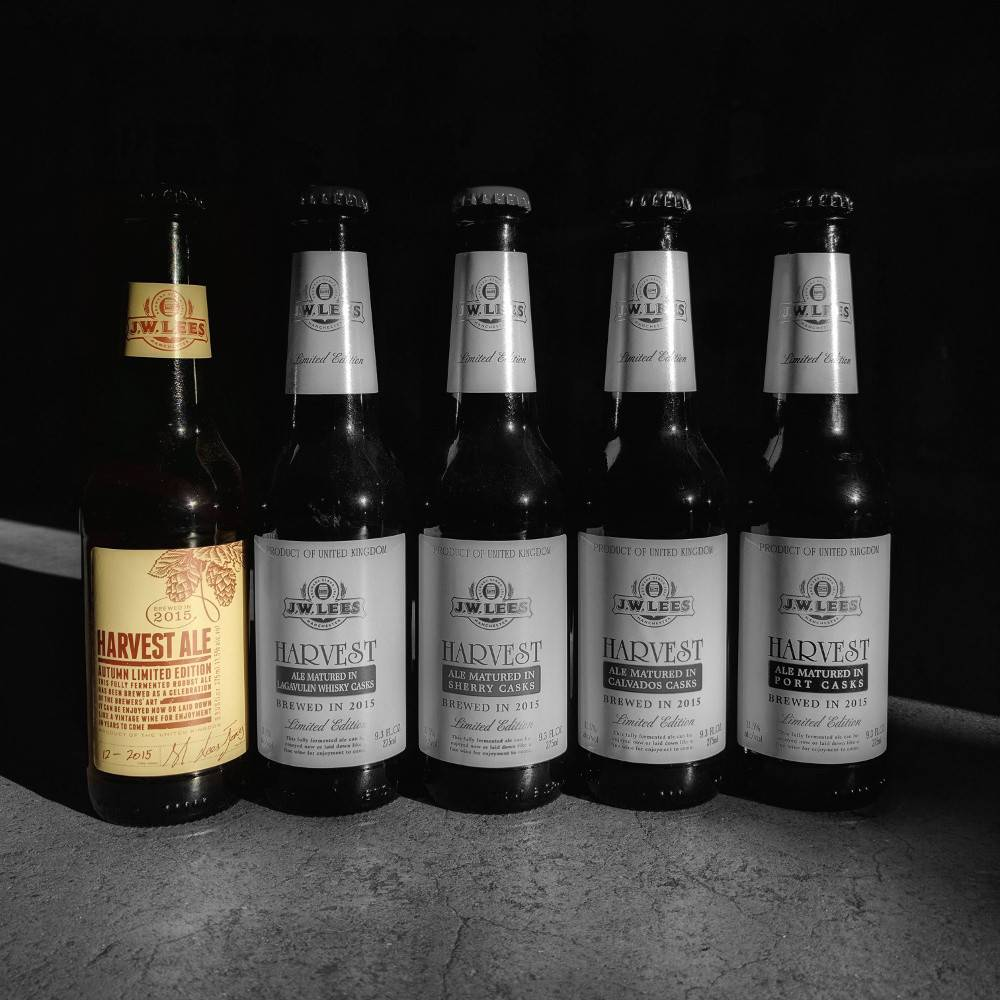 J.W. Lees 'Harvest Ale 2015 Vintage' 9.3oz