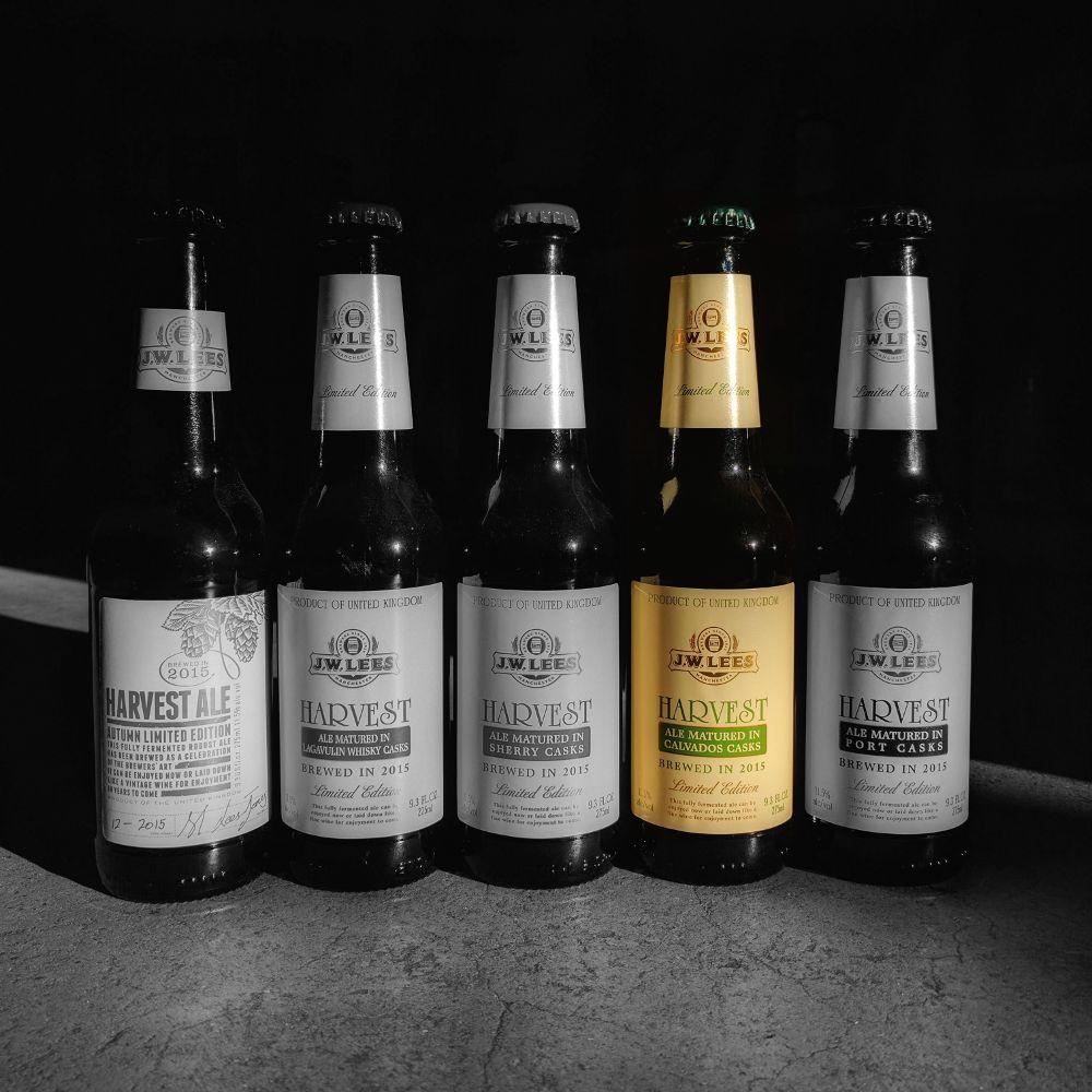 J.W. Lees 'Harvest Ale 2015 Vintage - Calvados Casks' 9.3oz