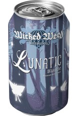 Wicked Weed 'Lunatic' Belgian Blonde Ale 12oz Sgl (Can)