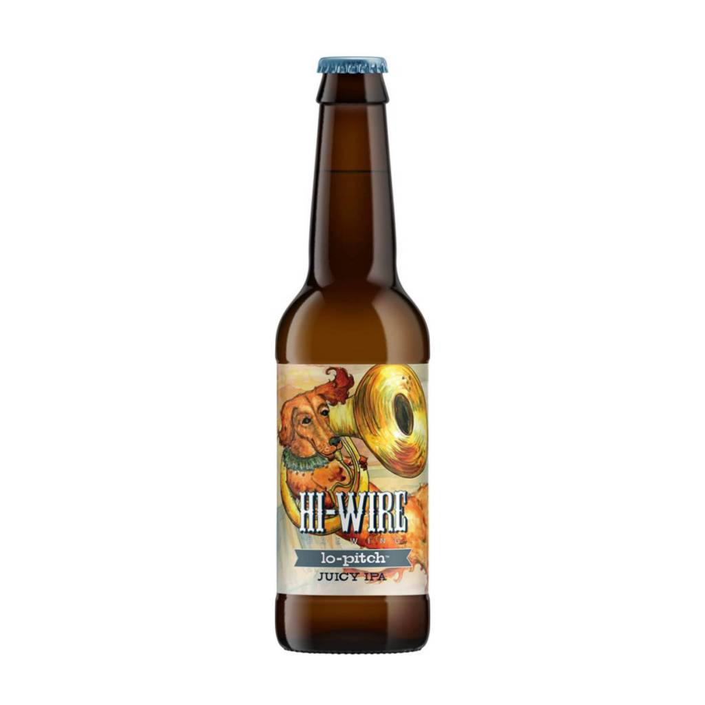 Hi-Wire 'Lo-Pitch' Juicy IPA 12oz Sgl