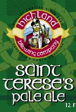 Highland Brewing Company St. Terese's Pale Ale Case (12oz - Case of 24)