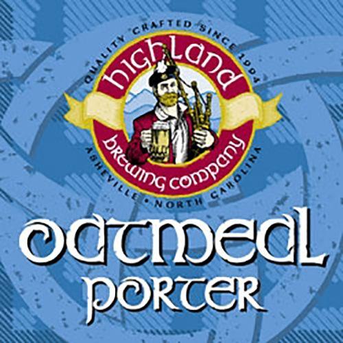 Highland Oatmeal Porter Case (12oz - Case of 24)