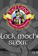 Highland Black Mocha Stout Case (12oz - Case of 24)