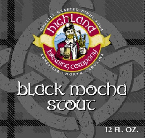 Highland Brewing Company Black Mocha Stout Case (12oz - Case of 24)