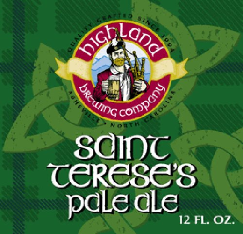 Highland 'St. Terese' Pale Ale 12oz Sgl