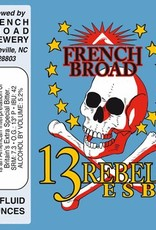 French Broad French Broad 13 Rebels ESB Can Case (12oz - Box of 24)
