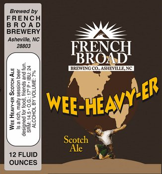 French Broad Wee Heavy-er Can Case (12oz - Box of 24)