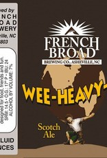 French Broad French Broad 'Wee Heavy-er' 12oz Sgl (Can)