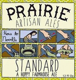 PRAIRIE 'Standard' Hoppy Farmhouse Ale 12oz Sgl