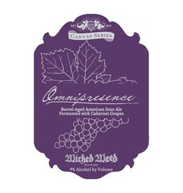 Wicked Weed 'Omnipresence' Barrel-Aged Sour Ale 500ml