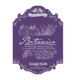Wicked Weed 'Botanica' Gin Barrel-aged Sour Ale 500ml