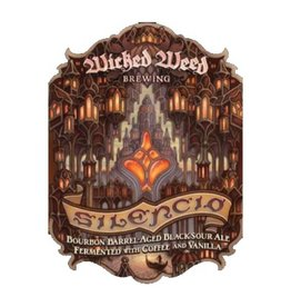 Wicked Weed 'Silencio' Bourbon Barrel-Aged Black Sour Ale 500ml