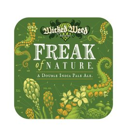 Wicked Weed 'Freak of Nature' Double IPA 500ml Sgl