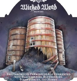 Wicked Weed 'Brettaberry' Farmhouse ale with Berries 500ml